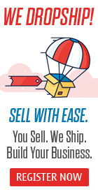 We Dropship! Sell With Ease