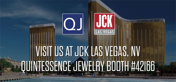 Quintessence Jewelry Corp. JCK Las Vegas, June 1-4, 2018 Show Invitation
