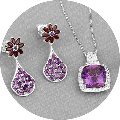 Amethyst Jewelry Collection