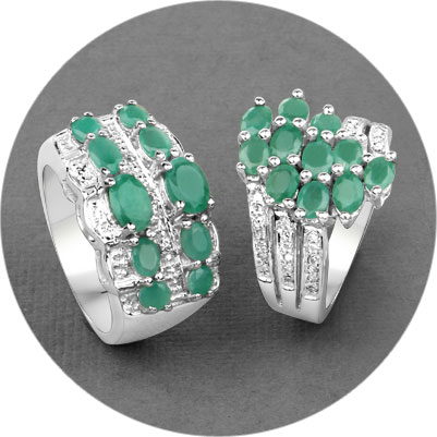 Emerald Jewelry Collection